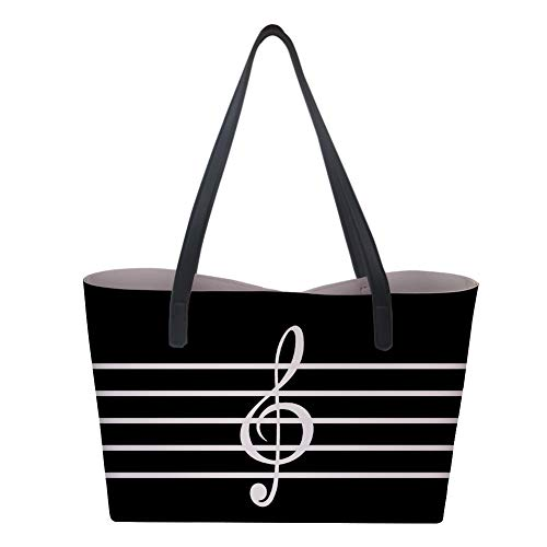 Music Showudesigns mano 1 Borsa Large a donna 66qxRnB4