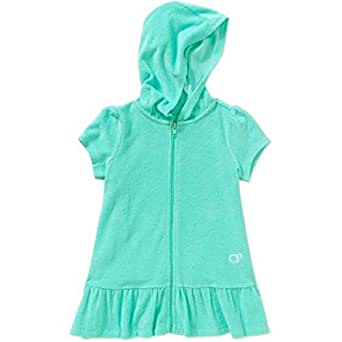 Amazon.com: Op Little Girls Toddler Hooded Terry Swimsuit