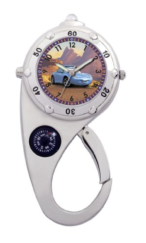 Disney Kids' D457 Sally Carrera Adventure Clip Watch