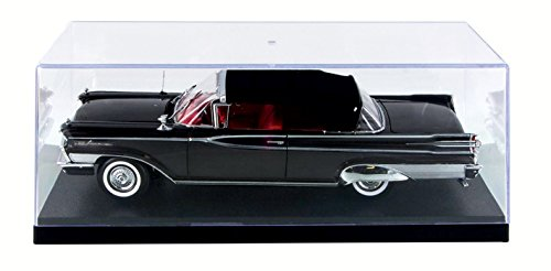 Diecast Case Display Stackable (Prestige Collectible Display Show Case for 1/18 1/24 Models by Autoworld AWDC001)