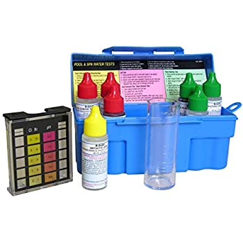 Taylor troubleshooter dpd pool and spa water test kit k 1004 swimming pool for Swimming pool test kits amazon