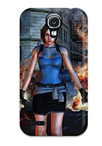 Hot Tpye Awesome Resident Evil By Ethaclane Dowmu Case Cover For Galaxy S4