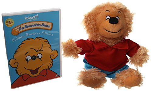 Berenstain Bears Limited Edition Golden Gift Set - Golden Brother Edition DVD & Plush