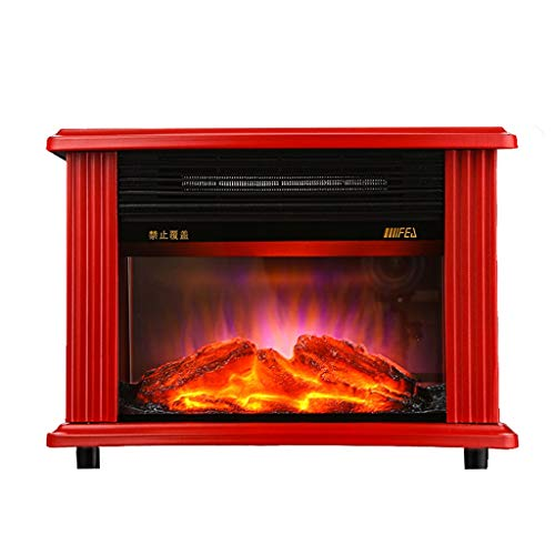 Cheap Liu Weiqin Heater - Simulated Flame Home Office Electric Fireplace Heating Furnace Heating Material Metal Black Friday & Cyber Monday 2019