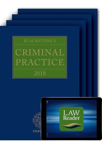 Download Blackstone's Criminal Practice 2018 (Book, All Supplements and Digital Pack) pdf