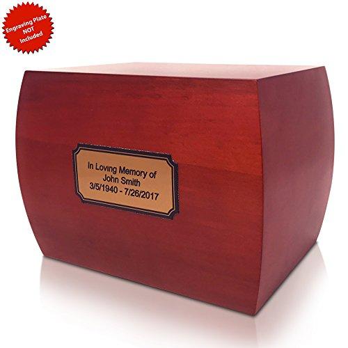 wood ash urn - 1