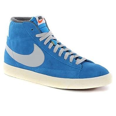brand new c25df eb8c4 Nike Blazer Mid Premium Vintage Suede Shoes - Photo Blue ...
