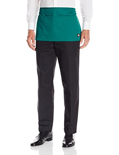 Dickies Chef Men's Bistro Waist Apron, Hunter Green Server, One Size