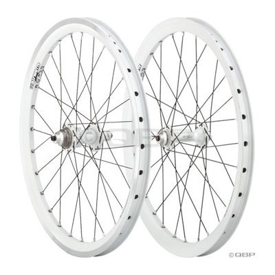 """Answer BMX Limited Edition White Ti Expert 20 x 1.5"""" (406 ISO) Wheelset"""