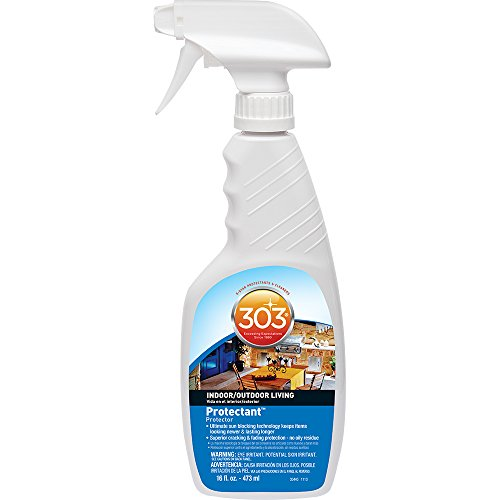Price comparison product image 303 (30440) Indoor Outdoor Patio Furniture UV Protectant Spray for Vinyl, Plastic, Rubber, Fiberglass, Leather & More – Dust and Dirt Repellant - Non-Toxic, Matte Finish, 16 Fl. oz.
