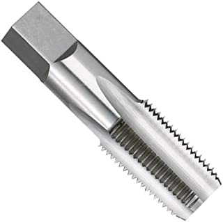 "product image for Kodiak Cutting Tools KCT212045 USA Made 1/8-27 NPT Taper Pipe Threading Tap for National Pipe Taper Threads, Ground Threads, High Speed Steel, 4 Flute, .4375"" Shank, 3/4"" Thread Length, 2-1/8"" Overall Length"