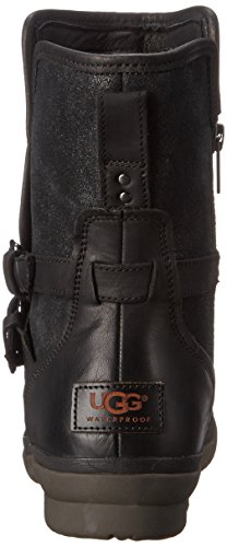 Leather 8 B 5 Black Simmens Rain Women's US Leather Boot M UGG qYTOwSq