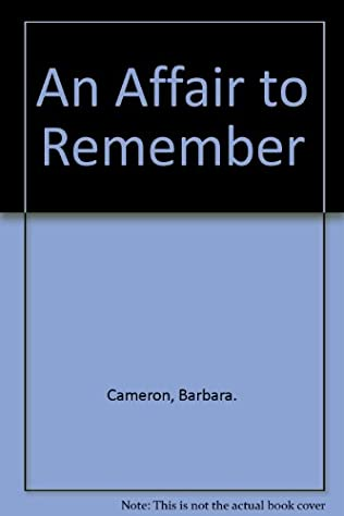 book cover of An Affair to Remember