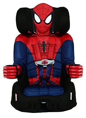 Disney KidsEmbrace Combination Toddler Harness Booster Car Seat, Marvel Ultimate Spider-Man