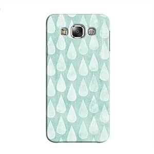 Cover It Up - Cyan Pale Drops Galaxy E7 Hard case