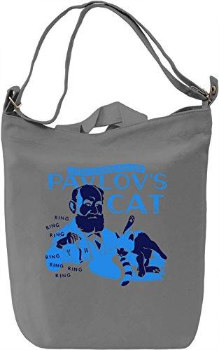 Pavlov's Cat Borsa Giornaliera Canvas Canvas Day Bag| 100% Premium Cotton Canvas| DTG Printing|