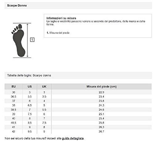 adidas Cloudfoam Flow W, Zapatillas de Deporte para Mujer Rojo (Rojimp / Rojimp / Ftwbla)