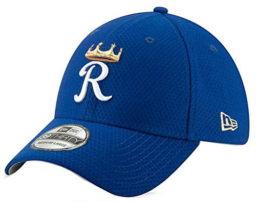 New Era 2019 MLB Kansas City Royals Bat Practice Hat Cap 39Thirty 3930 (L/XL) -