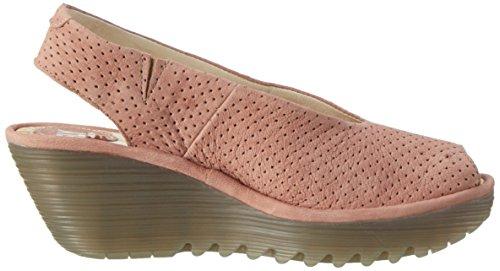 Fly London P500736010, Zapatos de Cuñas Mujer Rosa (Rose 005)