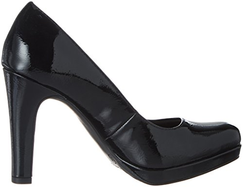 Damen 22426 Pumps Tamaris Black Schwarz Patent fPqwadx6