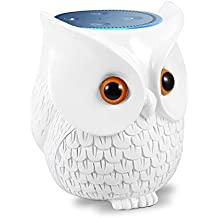 BFF For Alexa Mounchain Owl Statue Crafted Guard Station Creativce for Amazon Echo Dot 2nd and 1st Generation Guard Holder Guard Station Decoration for Smart Home