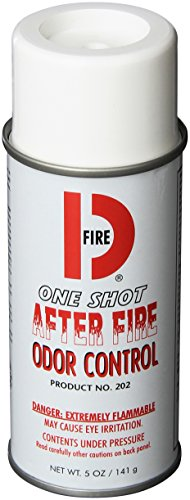Big D 202 Fire D One Shot After Fire Odor Control Fogger, 5 oz (Pack of 12) - Kills odors from fire, flood, decomposition, cigarettes, musty smells - Ideal for use in cars, property management, hotels by Big D (Image #1)