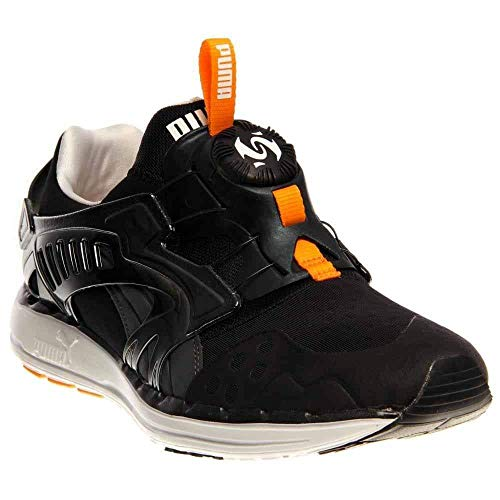 PUMA Men's Future Disc Lite Tech'd Out, Black/Zinnia, 11 D - Medium ()