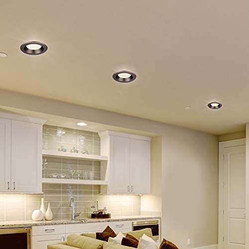 Designers Fountain EVL6733NBZ30 Bronze Trim Integrated LED Recessed Ceiling Light, 3000K, 90 CRI, 670 Lm 5-6 in by Designers Fountain (Image #6)