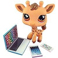 LPS Littlest Pet Shop 3 Accessories Lot Set Laptop, Tablet, Phone PET NOT INCLUDED