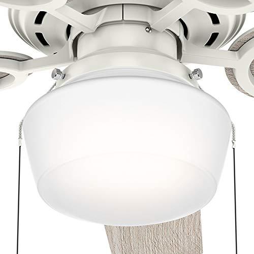 Hunter Fan Company 53417 Hunter 52'' Viola Fresh White LED Light Ceiling Fan by Hunter Fan Company (Image #10)