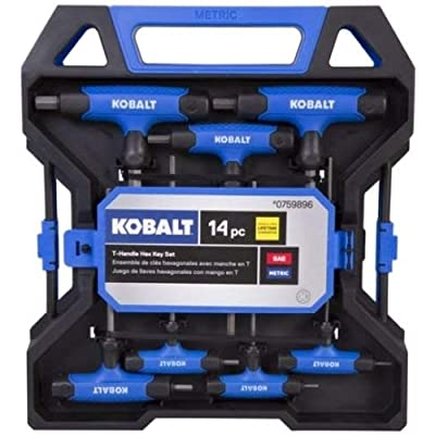 Kobalt 14 Piece T-Handle Hex Key Set