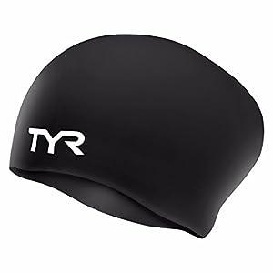 TYR Sport Long Hair Silicone Swim Cap