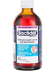 Bactidol Mouthwash for Sore Throat Relief, 250ml