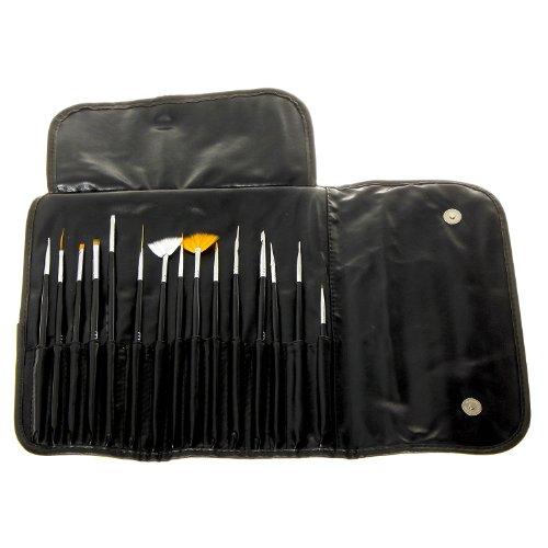 MASH Professional 15 piece Nail Art Brush Kit Set