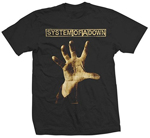 (System of a Down - Album Cover T-Shirt Size S)
