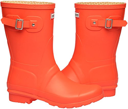 1 Trendy Rain Middle 1193 Garden Women Orange Boots Paperplanes Wellington qCH171