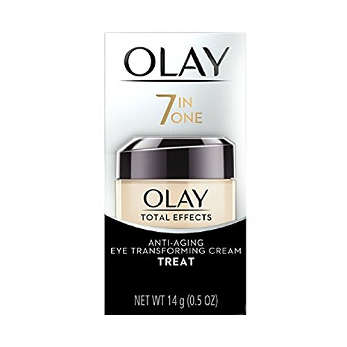 OLAY Total Effects Anti-Aging Eye Transforming Cream 0.5 oz (Pack of 3) (Best Olay Eye Cream)