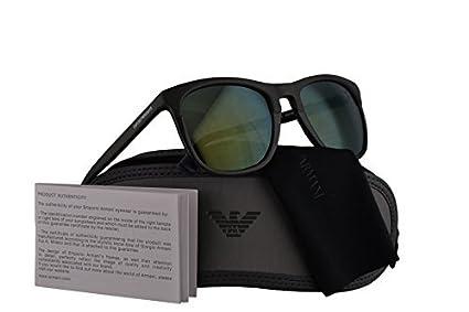 d994fb7b55fa Image Unavailable. Image not available for. Color  Emporio Armani EA4105 Sunglasses  Matte ...