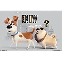"""Trends International The Secret Life of Pets Sniff Wall Poster 22.375"""" x 34"""""""