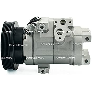 2002 2001 ACURA MDX V6 3.5L New AC Compressor with Clutch 1 Year Warranty
