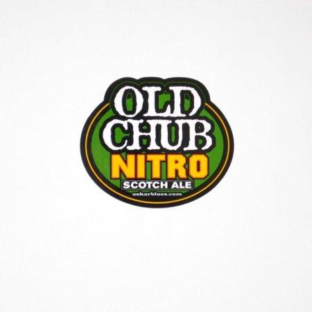 (Oskar Blues Brewery - Old Chub Scotch Ale Nitro - Logo Sticker)