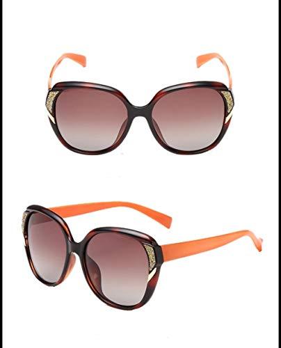 4 Señoras Anteojos Polarizadas Que WJYTYJ Definición Conducen Europeos Sol UV Alta De De Sombrilla De Gafas Y De Americanos wqIBUR