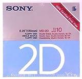 Sony MD-2D 5.25'' Floppy Disk Double Density 25 quantity