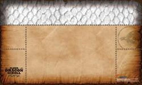 Legion Supplies PLMEDW Play Mat Elder Dragon Scroll White