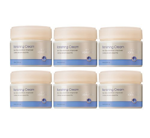 Avon Solutions Banishing Cream Skin Discoloration Improver - Lot of 6 Jars
