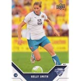 2011 Upper Deck MLS Soccer #188 Kelly Smith Boston Breakers WPS Super Draft Official Major League Soccer Trading Card From UD