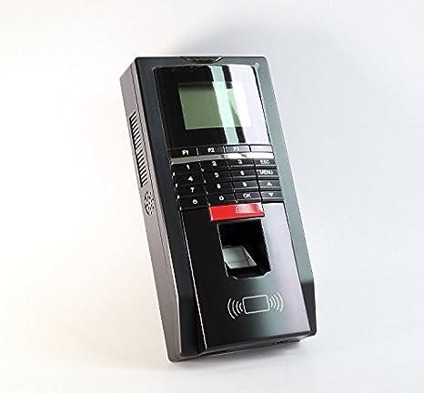 Amazon.com : Entrada de pista y entrada de salida Sistema de control de acceso ANSI Strike Lock 110-240V fuente de alimentación RFID Keyfods / tarjetas ...