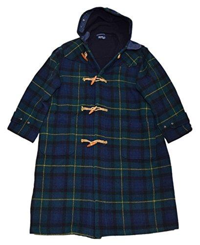 Plaid Toggle Coat Jacket - 9