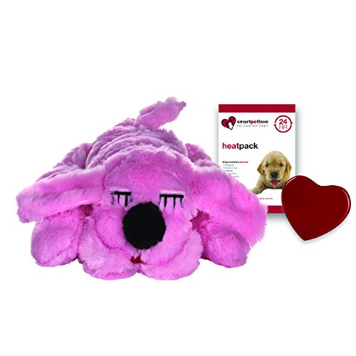 SmartPetLove Snuggle Puppy Behavioral Aid Toy, Pink