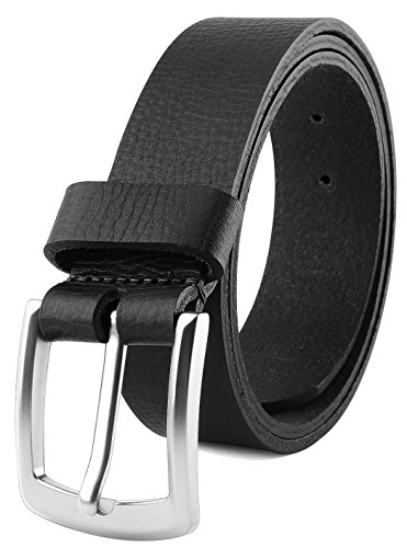 Men's Full Grain One Piece leather Belt,1.5